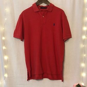 Coral POLO Ralph Lauren Shirt. EUC! Sz. Large